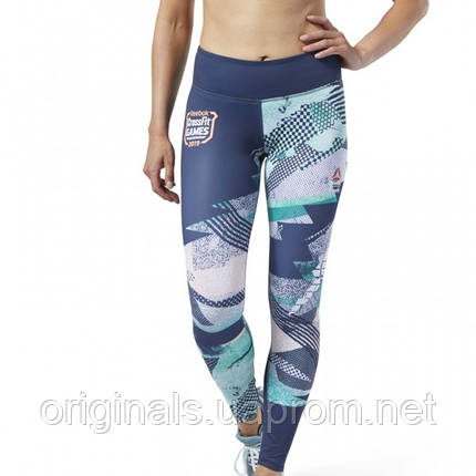 Женские спортивные леггинсы Reebok CrossFit® Lux DY8416, фото 2