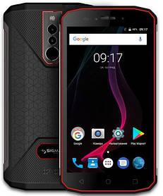 Смартфон Sigma X-treme PQ51 Black-Red Гарантия 12 месяцев