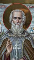 Икона Святого Сергия Радонежского., фото 8