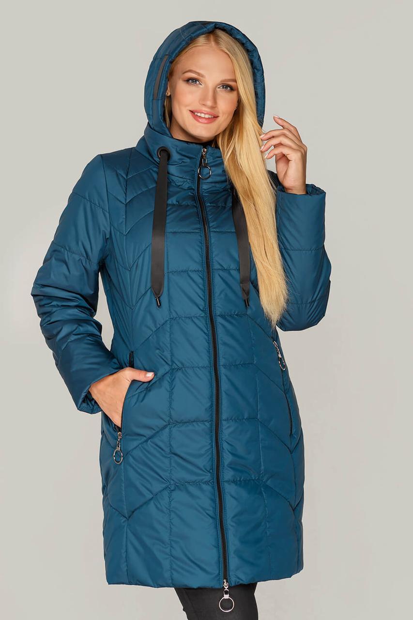 Куртка женская удлиненная с 50 по 60 размер