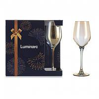 "Набор бокалов для вина Luminarc Celeste ""Золотой хамелеон"" 270мл 6шт"