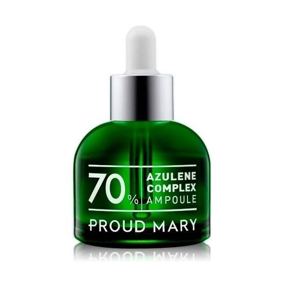 Ампульная сыворотка с азуленом для проблемной кожи Proud Mary Azulene Ampoule, 50 мл.