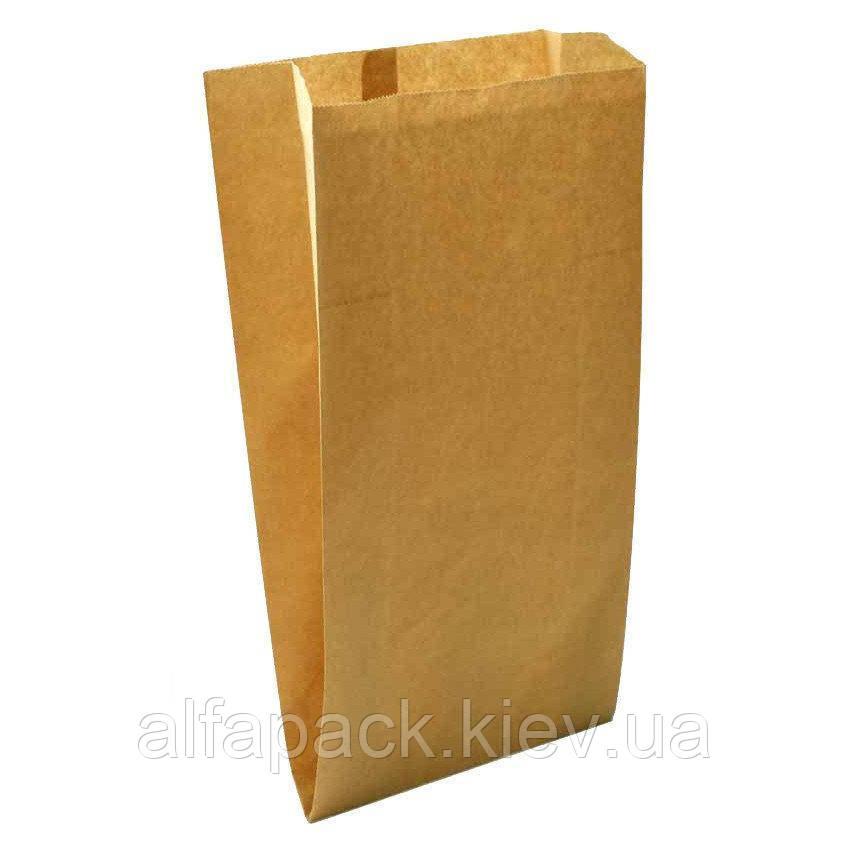 Пакет саше бумажный бурый 220х90х50 мм, упаковка 1000 шт.
