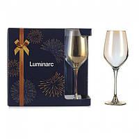 "Набор бокалов для вина Luminarc Celeste ""Золотой хамелеон"" 350мл 6шт"