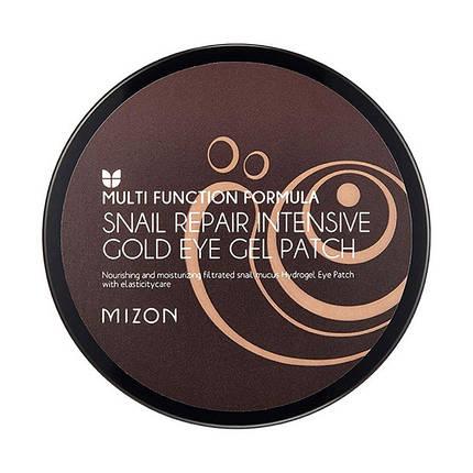 Гидрогелевые патчи для глаз Mizon Snail Repair Intensive Gold Eye Gel Patch 60 шт., фото 2