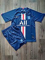Детская футбольная форма ПСЖ/PSG ( Франция, Лига 1 ), домашняя, сезон 2019-2020 фанатская версия, фото 1