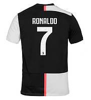 Детская футбольная форма Ювентус/Juventus RONALDO 7 ( Италия, Серия А ), домашняя, 2019-2020 фанатская версия, фото 1