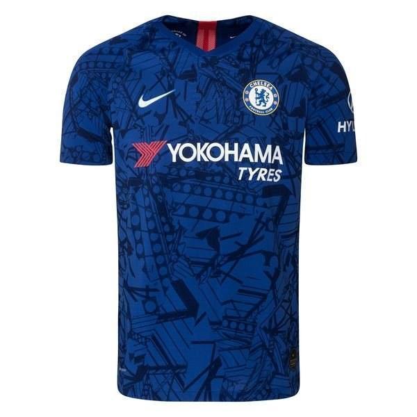 Детская футбольная форма Челси/Chelsea ( Англия, Премьер Лига ), домашняя, сезон 2019-2020