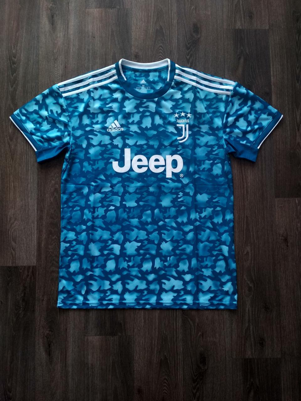 Тренировочная футболка игровая Ювентус/Juventus ( Италия, Серия А ), голубая, сезон 2019-2020