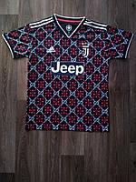 Тренировочная футболка игровая Ювентус/Juventus ( Италия, Серия А ), черная, сезон 2019-2020