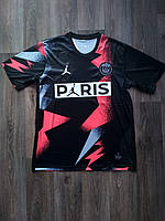 Тренировочная футболка игровая ПСЖ/PSG ( Франция, Лига 1 ), черно-красная, сезон 2019-2020
