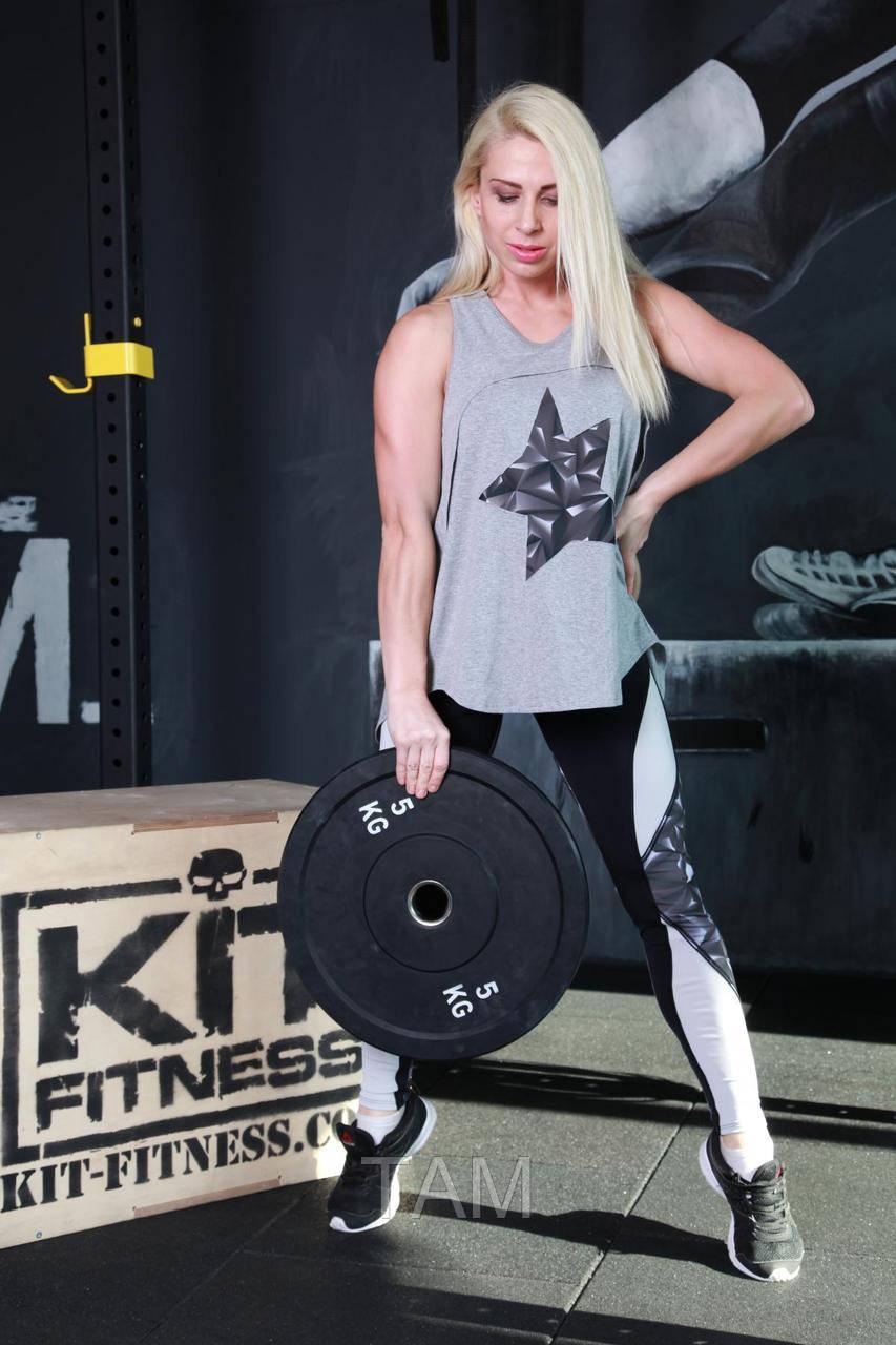 Майка для фитнеса и улицы Totalfit M32-P31 M