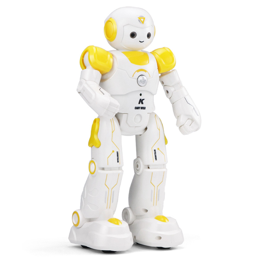 Программируемый робот-компаньон JJRC R12 Cady Wiso (JJRC-R12Y) бело-жёлтый