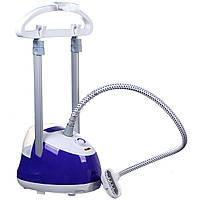 Вертикальный отпариватель Domotec MS 5351 пароочиститель для одежды со съемным баком для воды