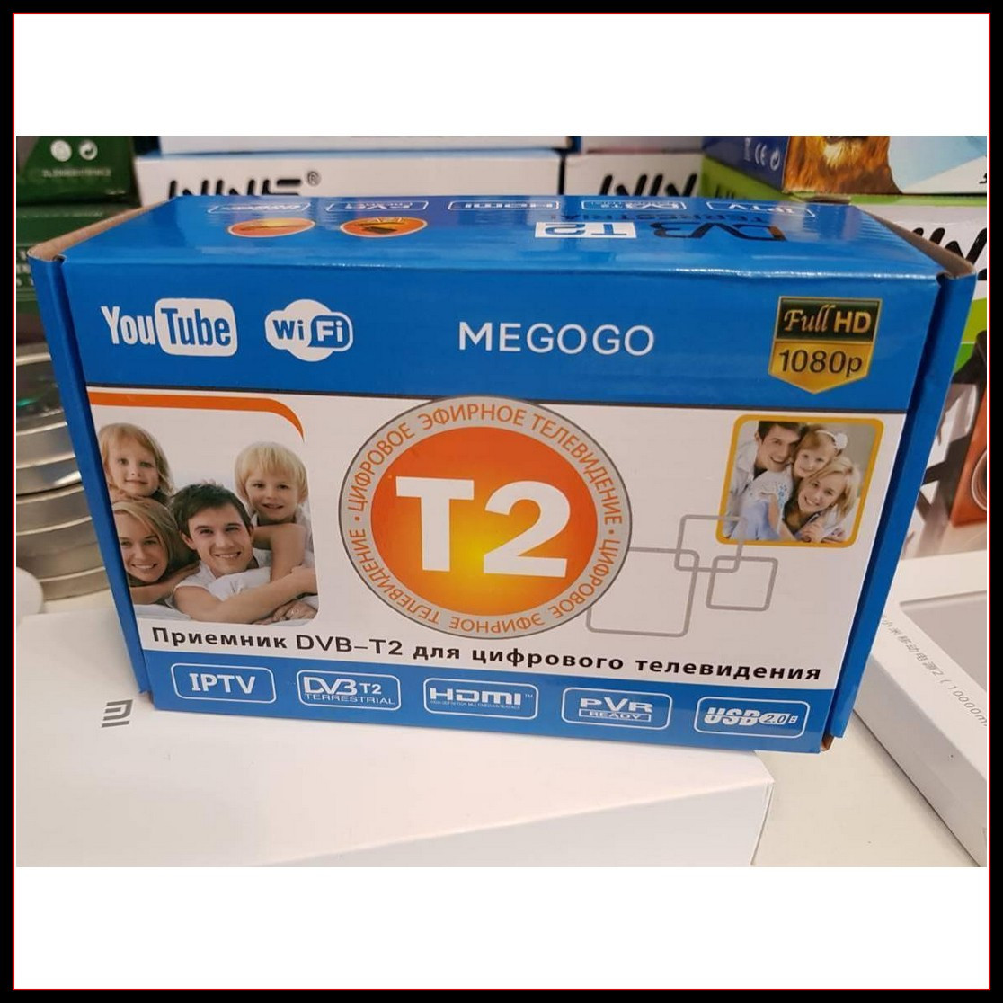 Цифровой Телевизионный Приемник Megogo TV Тюнер Т2