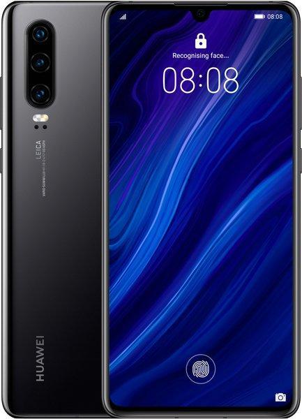 Смартфон Huawei P30 6/128GB DS Black
