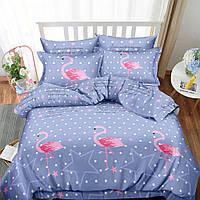 Постельное белье фламинго в разных размерах., фото 1