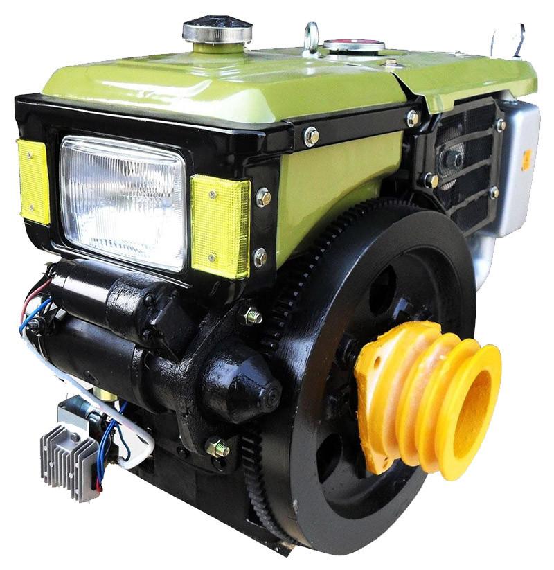 Двигатель дизельный (12 л.с./ 8,83 кВт) ДД195ВЭ для мотоблока