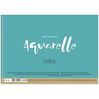 Альбом для акварели Школярик А4 PB-SC-020-302 Muse Aquarelle на спирали 220 г/м2 20 листов