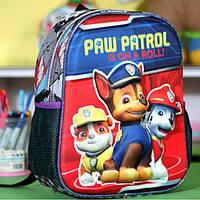 Щенячий патруль (Гонщик+Маршал+Крепыш) Объемный 3Д Детский рюкзак
