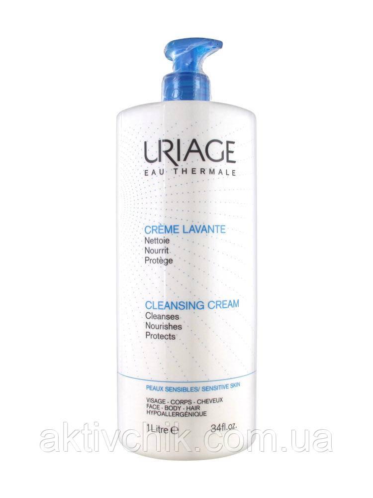 Очищающий пенящийся крем Урьяж Uriage Lavante Сleansing Cream 1000 мл