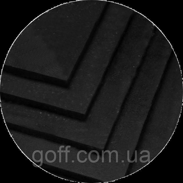 покрытие для тренажерного зала - цвет черный