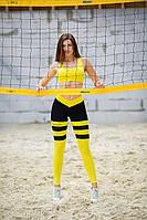 "Лосины для фитнеса ""Пчелка"" Totalfit S30-C1 M"
