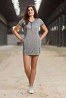 Платье Totalfit D-1 M Серебряный