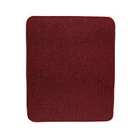 Электрический коврик с подогревом Теплик 50 х 60 см с термоизоляцией Темно-красный