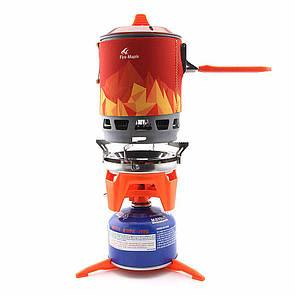 Комбинированная система для приготовления пищи Fire-Maple FMS-X3,газовая горелка. система для приготування їжі