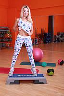 Майка  Totalfit M-12 M Голубой с розовым, фото 1