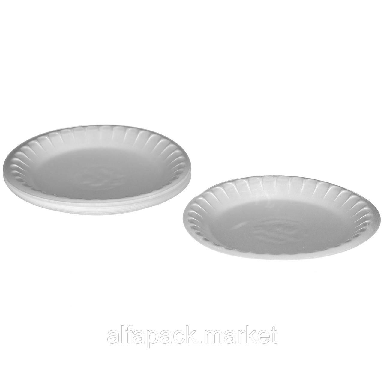 Набор одноразовых тарелок Food Packing Тарелка банкетная 225 мм 10 персон 000002426