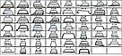 Кенгурятник Chevrolet Niva (02-09) защита переднего бампера кенгурятники на для Шевроле Нива Chevrolet Niva (02-09) LED d60х1,6мм, фото 2