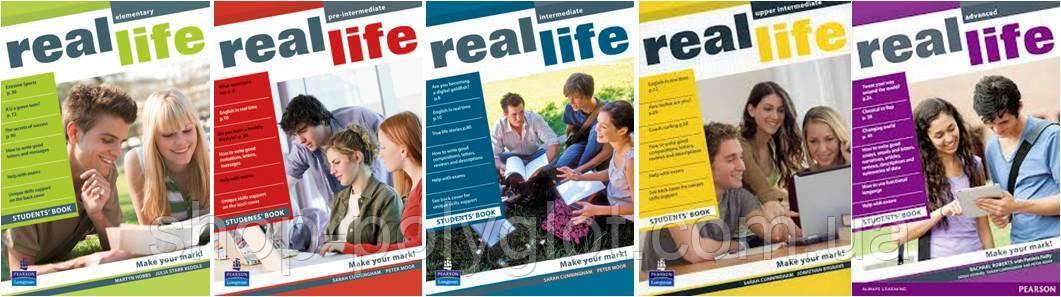 Real life (Elementary - Pre-Intermediate - Intermediate - Upper-Intermediate)
