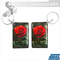 RFID брелок Т5577 Nature для копирования домофонных ключей и оригинальных RFID