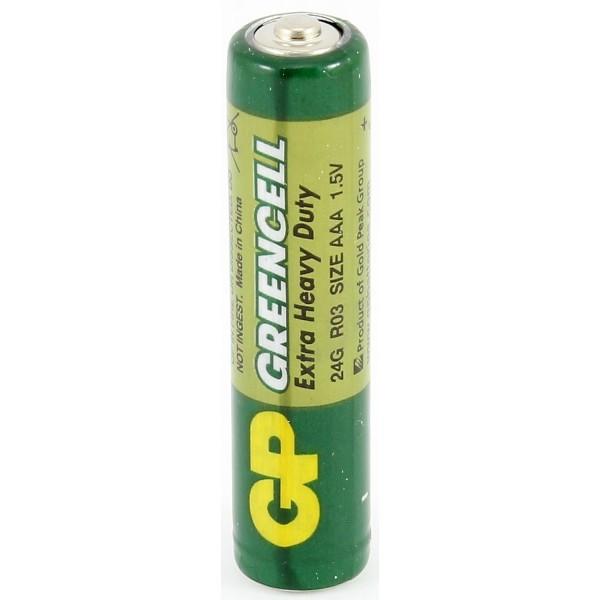 Батарейка GP Greencell R03 (1 шт.)
