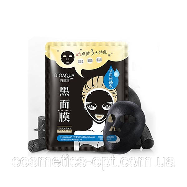 Увлажняющая маска для лица Bioaqua с гиалуроновой кислотой