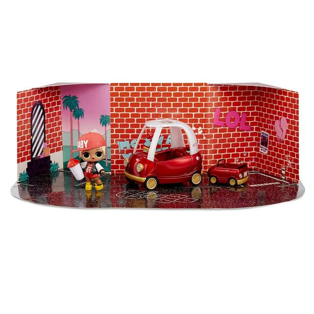 L.O.L. Surprise! Furniture Cozy Coupe with M.C. Swag
