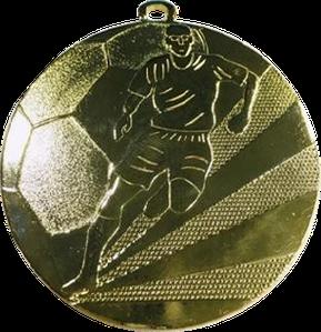 Медаль футбольная 70мм. ME25