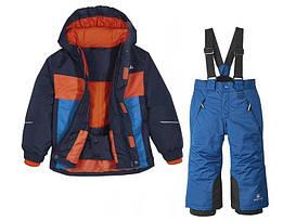 Лыжный костюм куртка и синие штаны Lupilu (Германия) р.98/104см