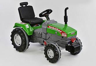 Трактор с педалями большой 07-294, зеленый - 154631