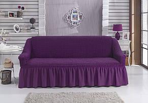 Чехол на диван с юбкой Фиолетовый Home Collection Evibu Турция 50057