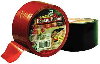 Бандажная пленка — клеящаяся Bondage Ribbon: 5cm/18mtr, RED