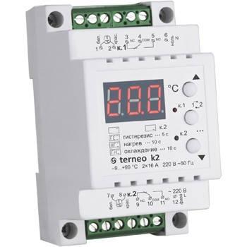 Терморегулятор пола terneo k2, фото 2