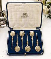 Антикварные серебряные ложки, Wakely & Wheeler LTD, Англия, London, 1936, фото 1