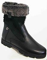 Ботинки женские зима большого размера из натуральной кожи от производителя модель В5273-6