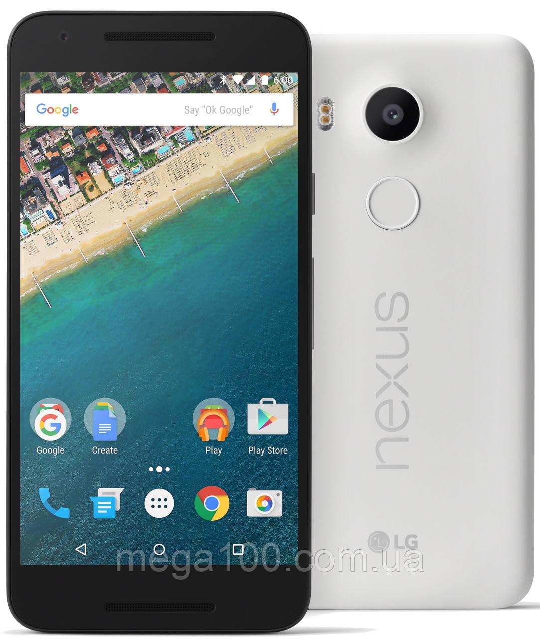 Смартфон LG Google Nexus 5X H791 (экран 5.2 дюймов, памяти 2/32, акб 2700 мАч)