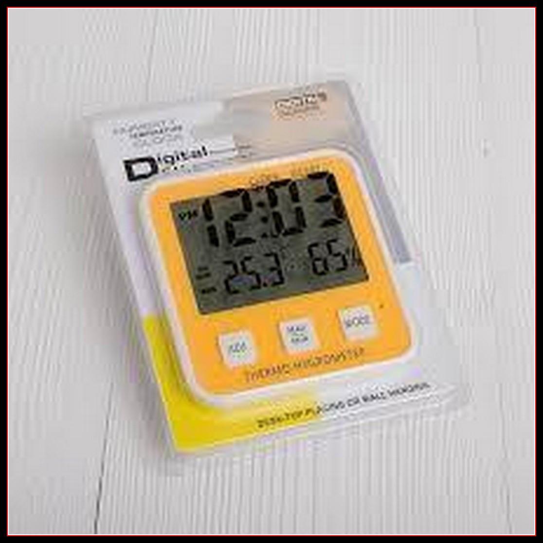 Термометр с гигрометром домашняя метеостанция DC-107