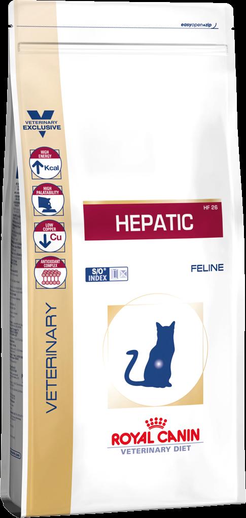 Корм для кошек при болезни почек Royal Canin HEPATIC FELINE 2 кг