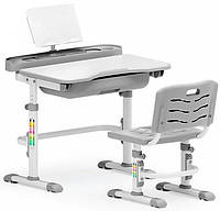Комплект парта и стульчик Evo-Kids Evo-17 Grey